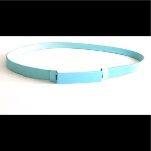 Hey there Delilah baby blue belt ☀️